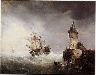 Egide Linnig - Image: Egide Linnig The 'Soho' enters the Scheldt estuary near Flushing