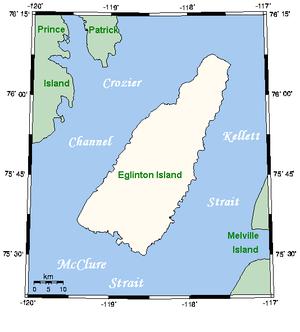 Eglinton Island - Closeup of Eglinton Island