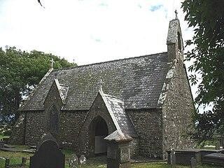 St Cynfarwys Church, Llechgynfarwy Church in Wales