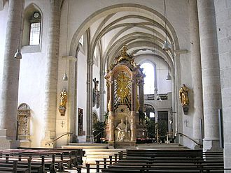 Eichstätt - Eichstätt Cathedral - view into the western choir