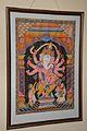 Eight-armed Ganesha - Patachitra - Tussore - Odisha - ACCN 2007-67 - Indian Museum - Kolkata 2015-09-26 3891.JPG