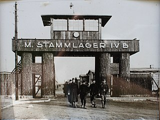 German prisoner of war camp