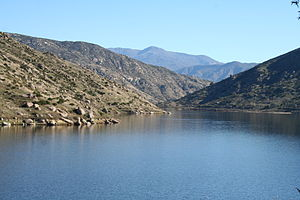 El Capitan Reservoir - The reservoir