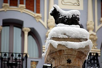 Teruel - El torico (The little bull), Teruel's totem.