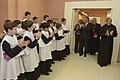 El president saluda a l'Escolania de Montserrat.jpg