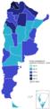 Elecciones presidenciales de Argentina de 1973, marzo.png