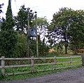 Electricity Pole in Peasenhall Road - geograph.org.uk - 1472687.jpg