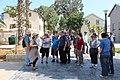 Elef Milim Project - Wikipedians in Sarona IMG 0928.JPG