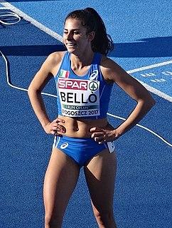 Elena Bellò Italian middle-distance runner