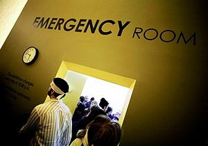 Picture of the artwork Emergency Room by Frenc...