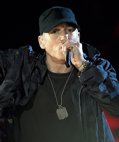 Eminem - Concert for Valor in Washington, D.C. Nov. 11, 2014 (2) (Cropped)