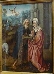 Encontro de São Joaquim e Santa Ana junto da Porta Dourada