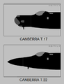 English Electric Canberra T.17 and T.22 nose silhouettes.png