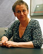 Anne Enright at Literaturhaus Köln (Cologne, Germany), 18 November 2008