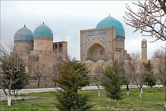 Shahrisabz - Kok-Gumbaz mosque