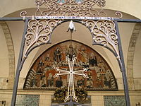 Entrance to the Cathedral of Saint James in the Armenian Quarter of Jerusalem.jpg