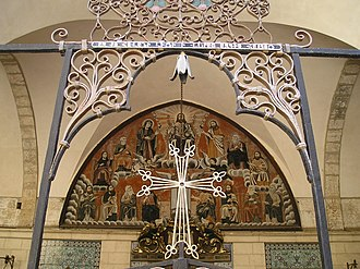 Cathedral of Saint James, Jerusalem - Image: Entrance to the Cathedral of Saint James in the Armenian Quarter of Jerusalem