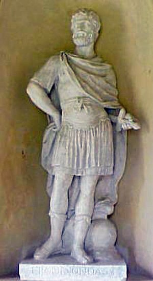 Epaminondas - Epaminondas, an idealized figure in the grounds of Stowe House