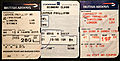Ephemera, A trio of 2002 boarding passes - Flickr - PhillipC.jpg
