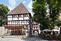 Erfurt-Haus zum Gueldenen Kroenbacken-Innenhof von Suedwesten-20100713.jpg