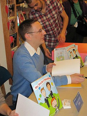 "My Uncle's Wedding - Author of ""My Uncle's Wedding signing copies of the book - 2011"