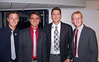 Ernie Haase & Signature Sound - Left to right: Anderson, Duncan, Haase and McGlamery in 2010