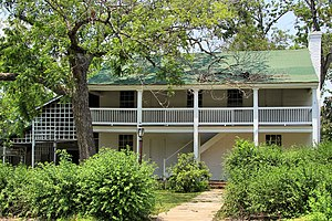 National Register of Historic Places listings in Guadalupe County, Texas - Image: Erskine house seguin 2013