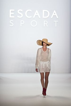 Berlin Fashion Week - Escada Sport show opening look at Mercedes-Benz Fashion Week Berlin Season Spring/Summer 2013