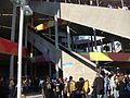 Escaleras mecánicas en la cancha... Ja! (4406640494).jpg