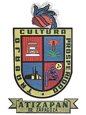 Atizapán de Zaragoza - Image: Escudo Atizapan de Zaragoza