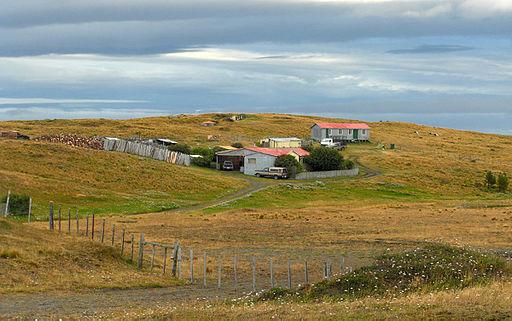 Estancia in Tierra del Fuego