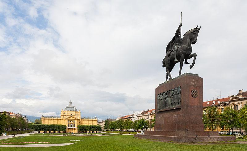 File:Estatua de Tomislav de Croacia, Zagreb, Croacia, 2014-04-20, DD 04.JPG