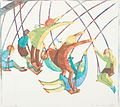 Ethel Spowers. Swings, 1932. Linocut.jpg