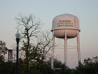 Eudora, Arkansas City in Arkansas, United States