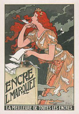 Eugène Grasset-Encre L Marquet