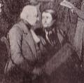 Eugène Rousseau. Detail of the Lithography Le Match Staunton – Saint-Amant, 19ème partie, 16 décembre 1843.png