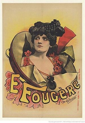 Eugénie Fougère - Eugenie Fougère ca. 1890 (Poster by Alfred Choubrac)