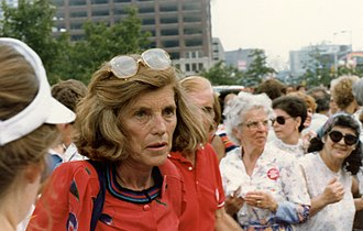 Eunice Kennedy Shriver - Eunice Kennedy Shriver in 1980