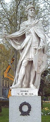 Eurico statue in Madrid by Juan Porcel, (1750-53).jpg