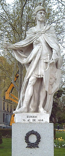 Eurico statue in Madrid by Juan Porcel, (1750-53).jpg