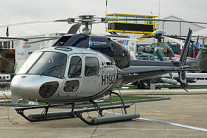 Вертолет Eurocopter AS35 В3E - Хелипорт Москва