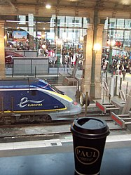 Eurostar departure lounge - time for a last cafe au lait - Flickr - TeaMeister.jpg