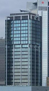 highrise in Frankfurt, Germany