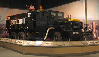U.S. Army Transportation Museum - The gun truck Eve of Destruction