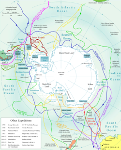 List Of Antarctic Expeditions Wikipedia