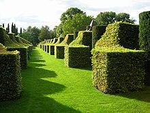The Topiary Garden At Manor Du0027Eyrignac, France