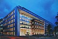 Fürstenwall, Gebäudekomplex Friedrichstraße 56–60 und Fürstenwall 166–172, Baustelle Planungsplakat, Düsseldorf.jpg