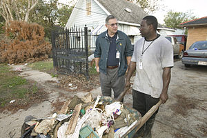 English: New Orleans, LA., 11/16/2005 -- FEMA ...