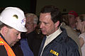 FEMA - 8090 - Michael D. Brown talks with David Compton in Missouri (2003-05-13).jpg