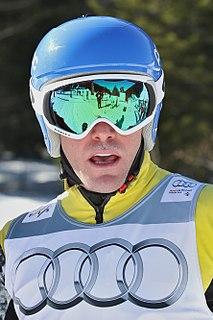 Christopher Del Bosco American-born, Canadian freestyle skier